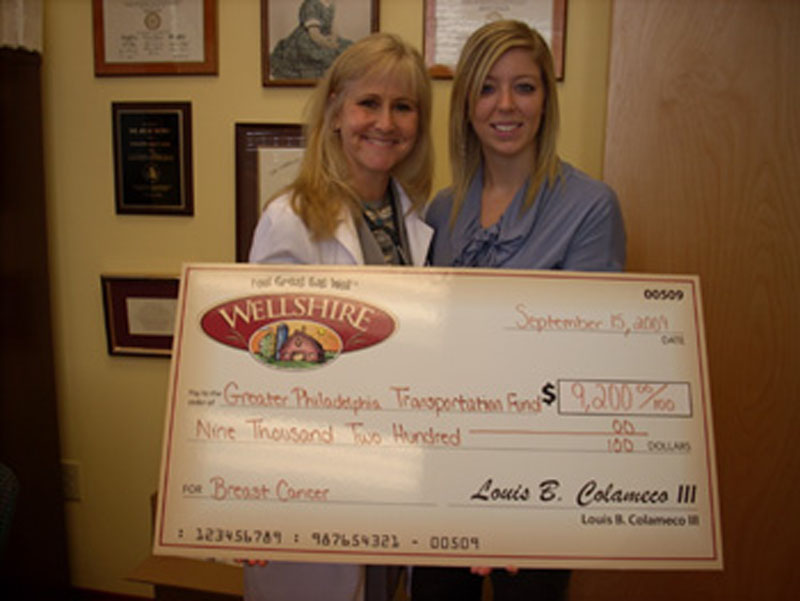 Hahneman Donation_Sept. 2009