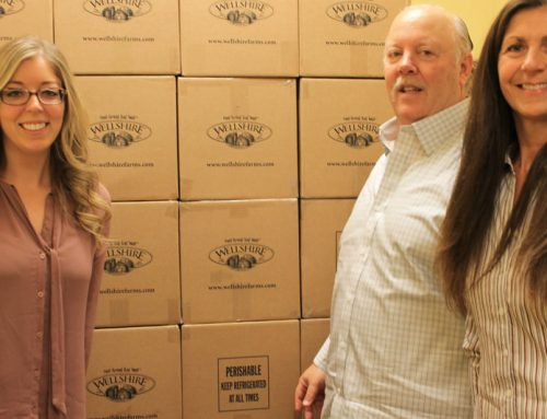 December 2014 B.A.C. Delivers Hams for Christmas Holiday