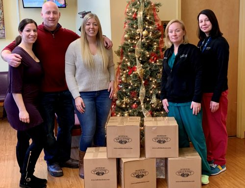 December 2019 B.A.C. Delivers Hams for Christmas Holiday